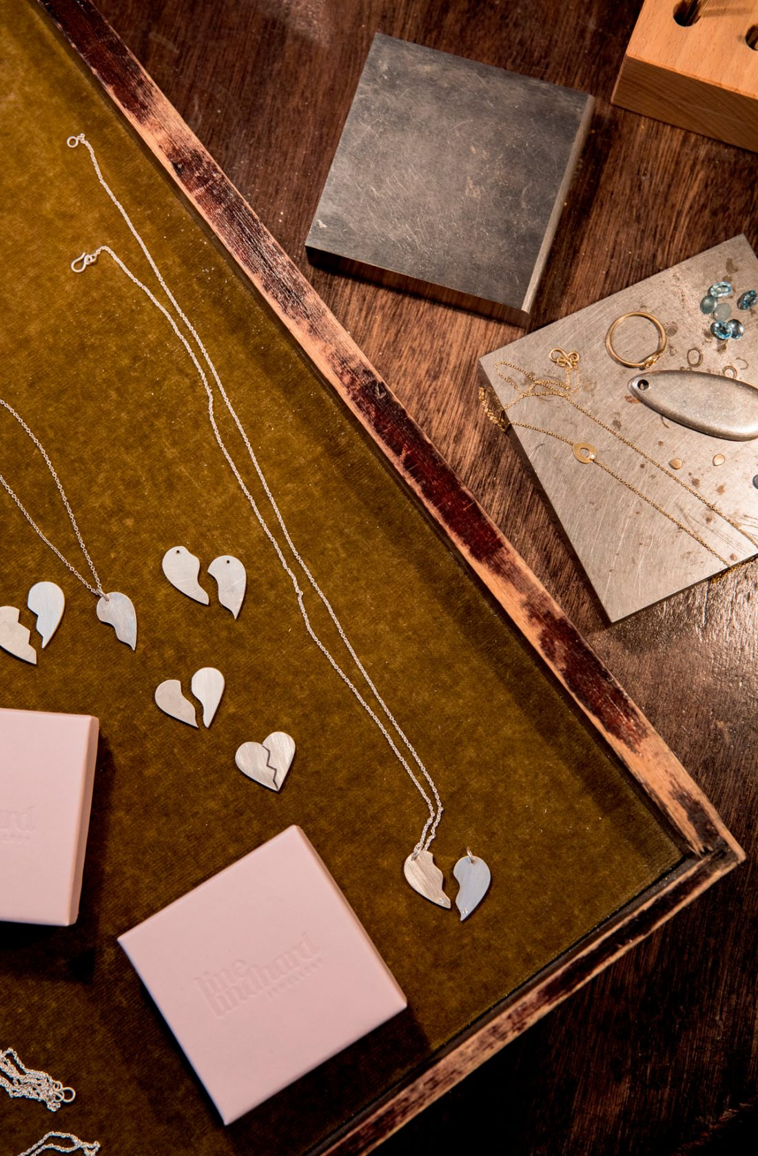 The Heart friendship necklace