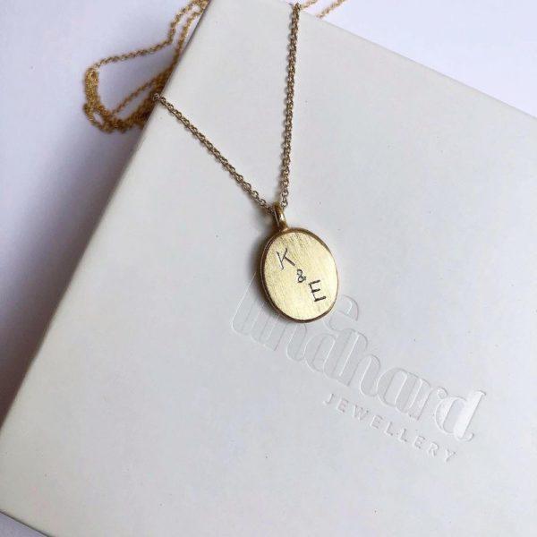 personlige smykker - medaljon